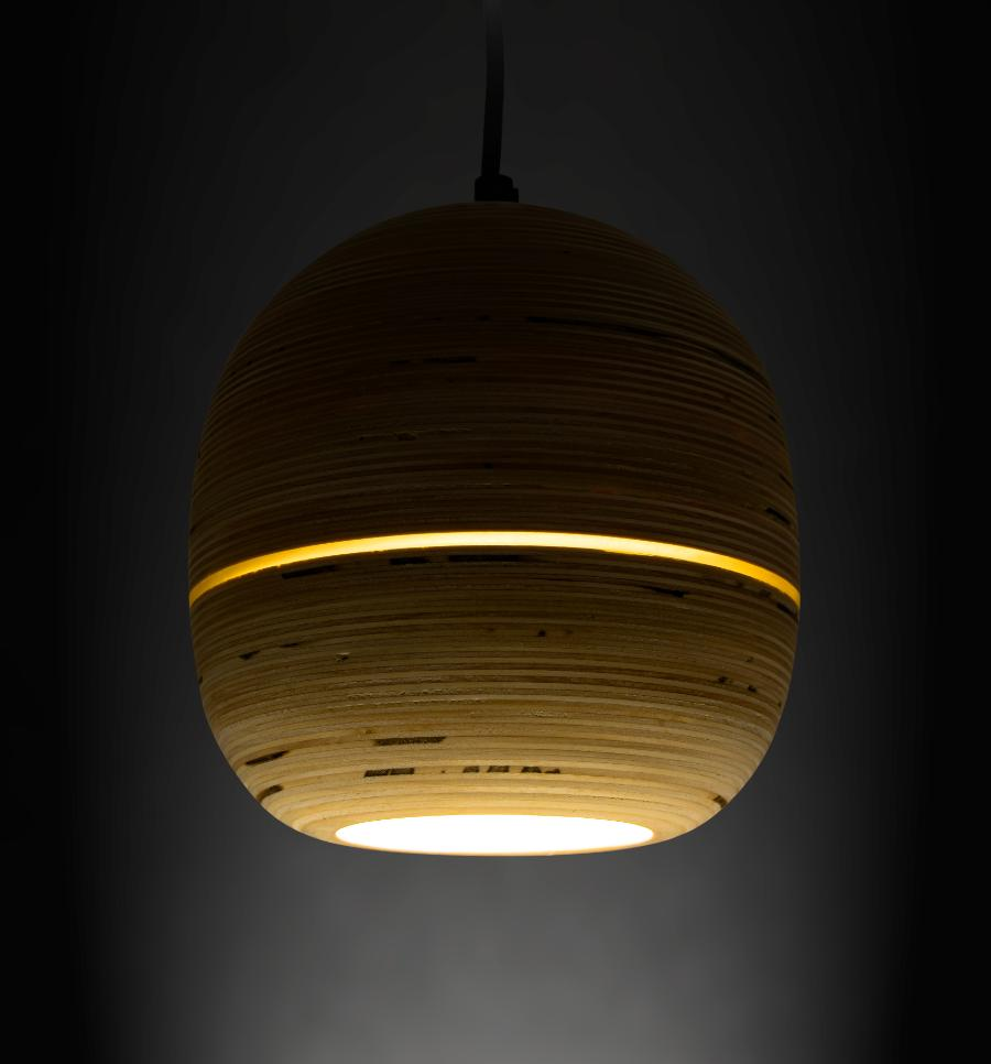 Pendant lamp organic
